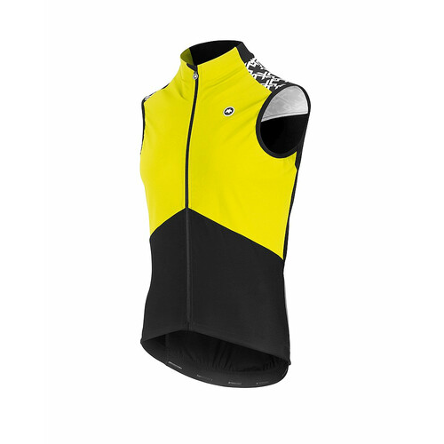 Assos Mille GT Spring/Fall Airblock Vest Fluo Yellow S