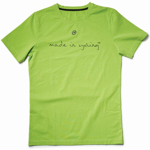Assos T Shirt Made in Cycling SS Lady python green